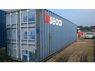 STORAGE CONTAINERS 40ft Shipping Container Warrington