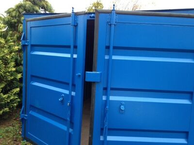 CONTAINER CONVERSION CASE STUDIES 21ft long x 9ft wide special build