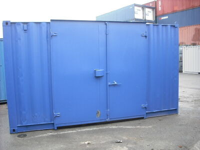 STORAGE CONTAINERS 16ft container side door SC3