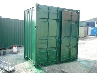 STORAGE CONTAINERS 5ft by 8ft Steel Newport
