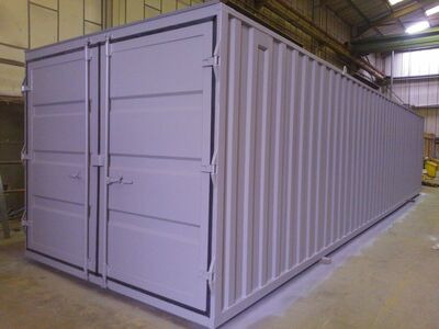 STORAGE CONTAINERS 10ft wide x 40ft long STC04