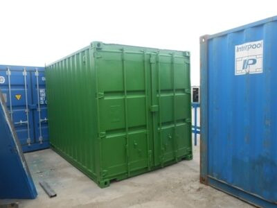 SHIPPING CONTAINERS 14ft original doors 35686