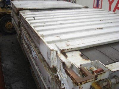 SHIPPING CONTAINER 20ft flat rack SC8