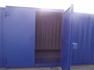 SHIPPING CONTAINER SC19 side doors