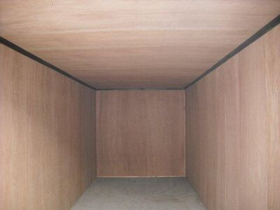 CONTAINER CONVERSIONS 14ft x 11ft ply lined, electrics