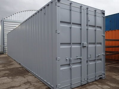 CONTAINER CONVERSION CASE STUDIES 40ft high cube, melamine lined CS28311