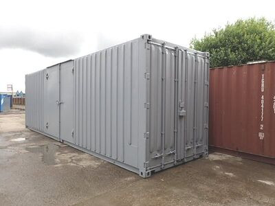 CONTAINER CONVERSION CASE STUDIES 30ft high cube, pallet wide with ramp CS30182
