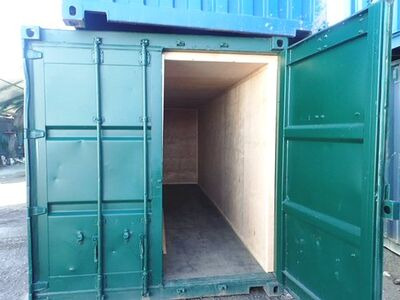 CONTAINER CONVERSION CASE STUDIES 2 x 20ft ply lined store CS34451