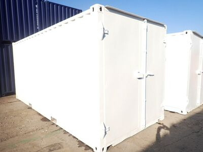 CONTAINER CONVERSION CASE STUDIES 20ft tunnel container CS33826