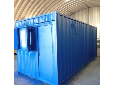 CONTAINER CONVERSION CASE STUDIES 20ft office and store CS28432a