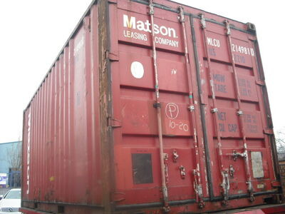 SHIPPING CONTAINERS 20ft ISO 36412