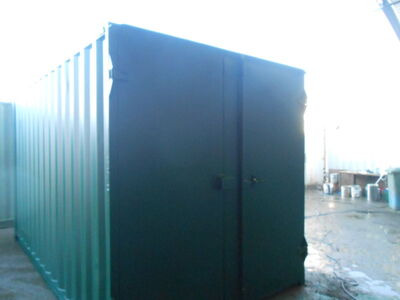 SHIPPING CONTAINERS 14ft S1 doors 28924