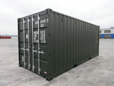 SHIPPING CONTAINERS 20ft ISO green 19185