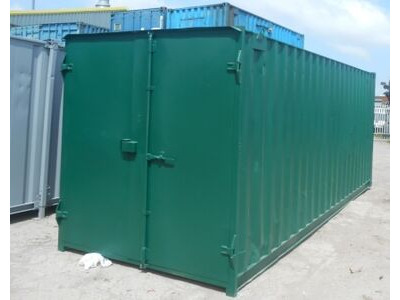 SHIPPING CONTAINERS 20ft S1 doors 36395