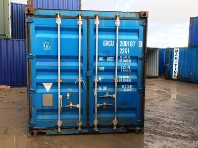 SHIPPING CONTAINERS 20ft original doors 36425