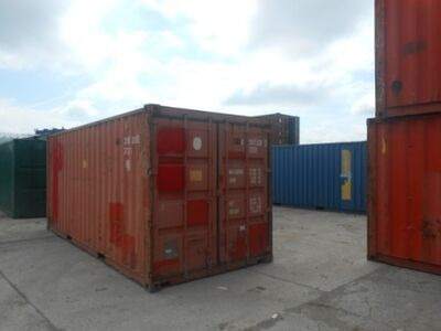 SHIPPING CONTAINERS 20ft original doors 24911