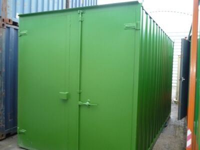SHIPPING CONTAINERS 15ft S1 doors 36684