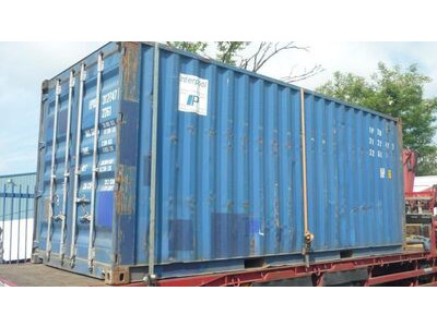 SHIPPING CONTAINERS 20ft ISO 21420