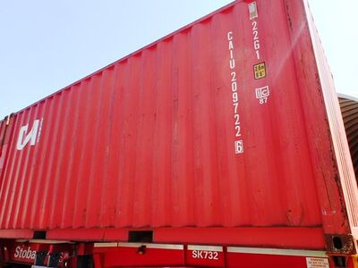 SHIPPING CONTAINERS 20ft ISO 32686