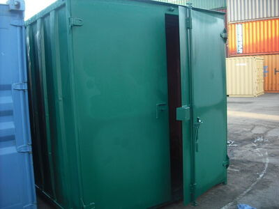 SHIPPING CONTAINERS 10ft S1 doors 21791