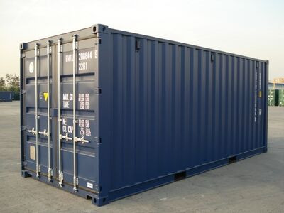SHIPPING CONTAINERS 20ft original doors 21307