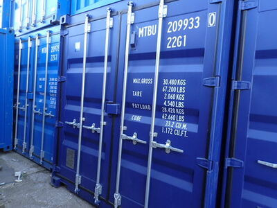 SHIPPING CONTAINERS 20ft ISO 30067