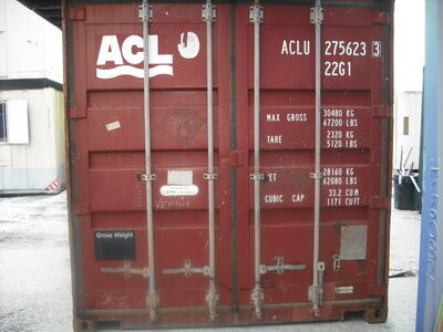 SHIPPING CONTAINERS 20ft ISO 24781