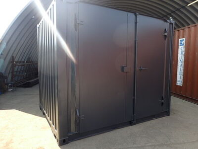 SHIPPING CONTAINERS 10ft S1 side doors 24167