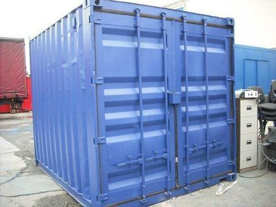 SHIPPING CONTAINERS 10ft original doors 31455
