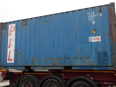 SHIPPING CONTAINERS 20ft ISO 31484