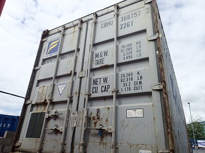 SHIPPING CONTAINERS 20ft ISO 31485