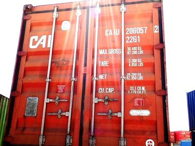 SHIPPING CONTAINERS 20ft ISO 32685
