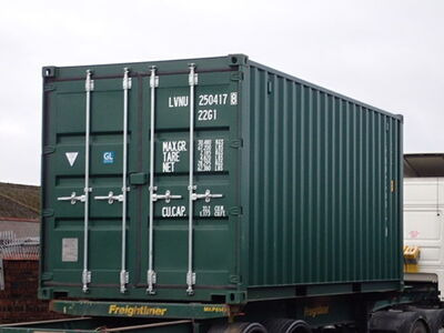 SHIPPING CONTAINERS 20ft ISO 30076