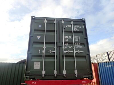SHIPPING CONTAINERS 20ft ISO green MTBU2110547