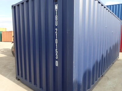 SHIPPING CONTAINERS 20ft blue MTBU2101530