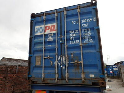 SHIPPING CONTAINERS 20ft ISO PCIU3022596