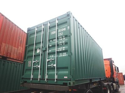 SHIPPING CONTAINERS 20ft ISO 38543