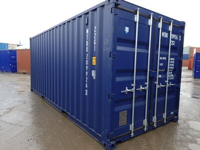 SHIPPING CONTAINERS 20ft ISO blue MTBU2099263
