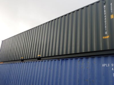 SHIPPING CONTAINERS 40ft ISO green MTBU4402614