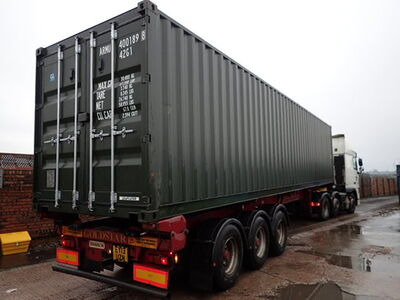 SHIPPING CONTAINERS 40ft ISO green ARMU4001898