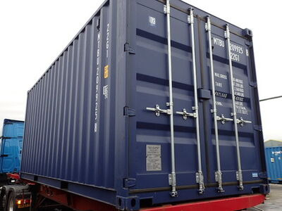 SHIPPING CONTAINERS 20ft ISO blue MTBU2099258