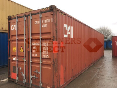 SHIPPING CONTAINERS 40ft ISO 36779