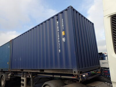 SHIPPING CONTAINERS 20ft ISO blue MTBU2099319