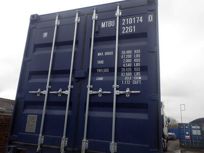 SHIPPING CONTAINERS 20ft ISO blue MTBU2101740