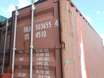 SHIPPING CONTAINERS 20ft S2 doors high cube