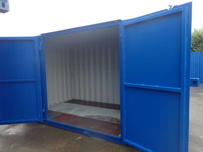SHIPPING CONTAINERS 13ft S1 side doors 31196