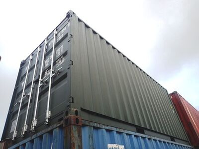 SHIPPING CONTAINERS 20ft ISO green MTBU2110589