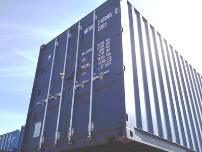 SHIPPING CONTAINERS 20ft ISO blue MTBU2103492