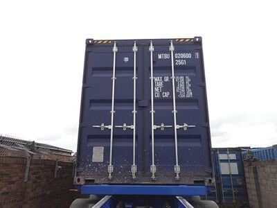 SHIPPING CONTAINERS 20ft ISO green MTBU0206001