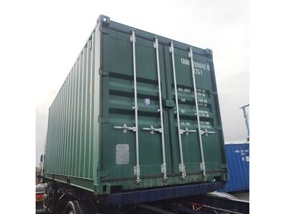 SHIPPING CONTAINERS 20ft original doors 38552